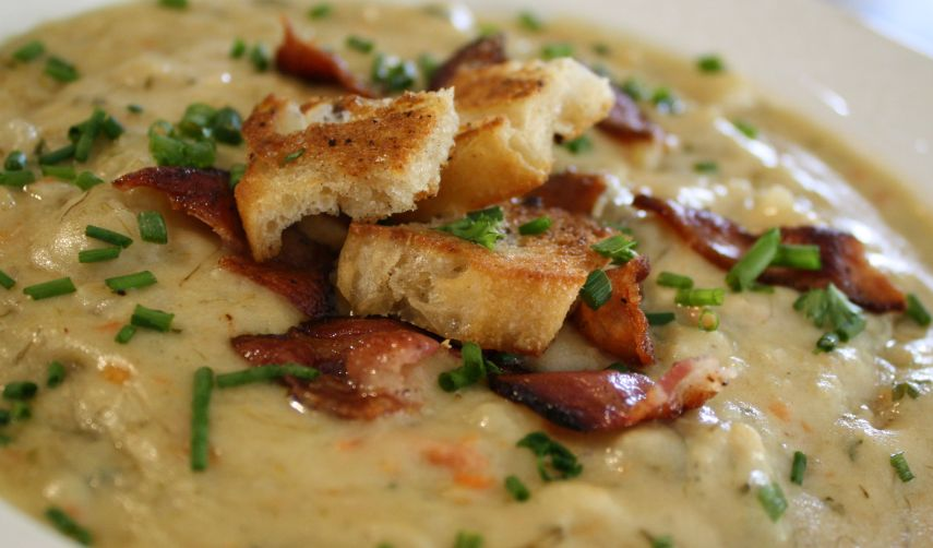 cheesy potato soup