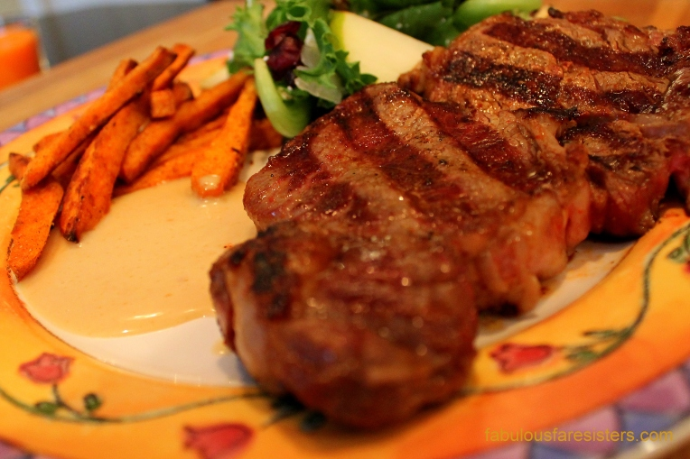 Argentinean Steak & Sweet Potato Fries