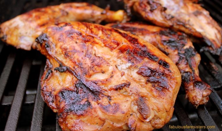 Honey-Lemon Glazed Chicken