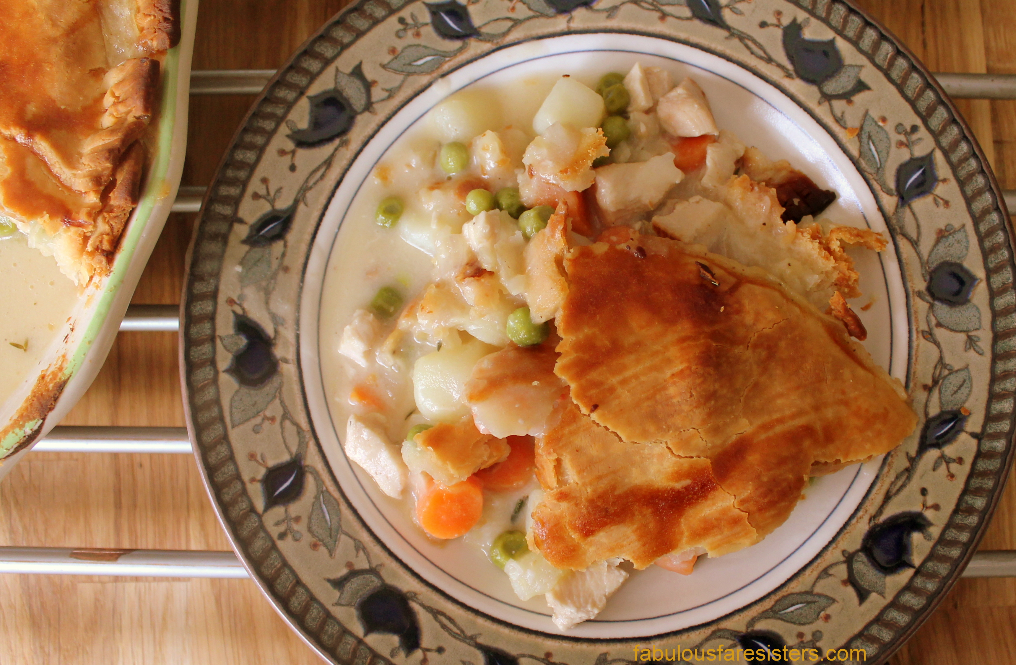 Savory Chicken Pie | fabulous fare sisters
