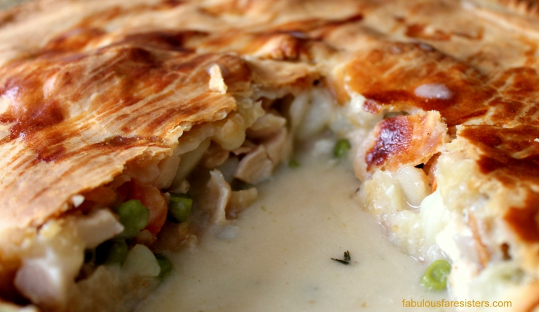 Savory Chicken Pie
