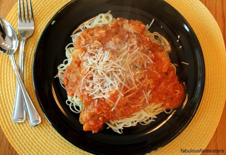 Shrimp & Crabmeat Pasta