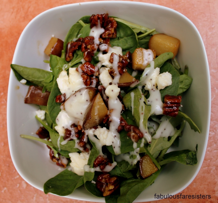 Caramelized Pear Salad