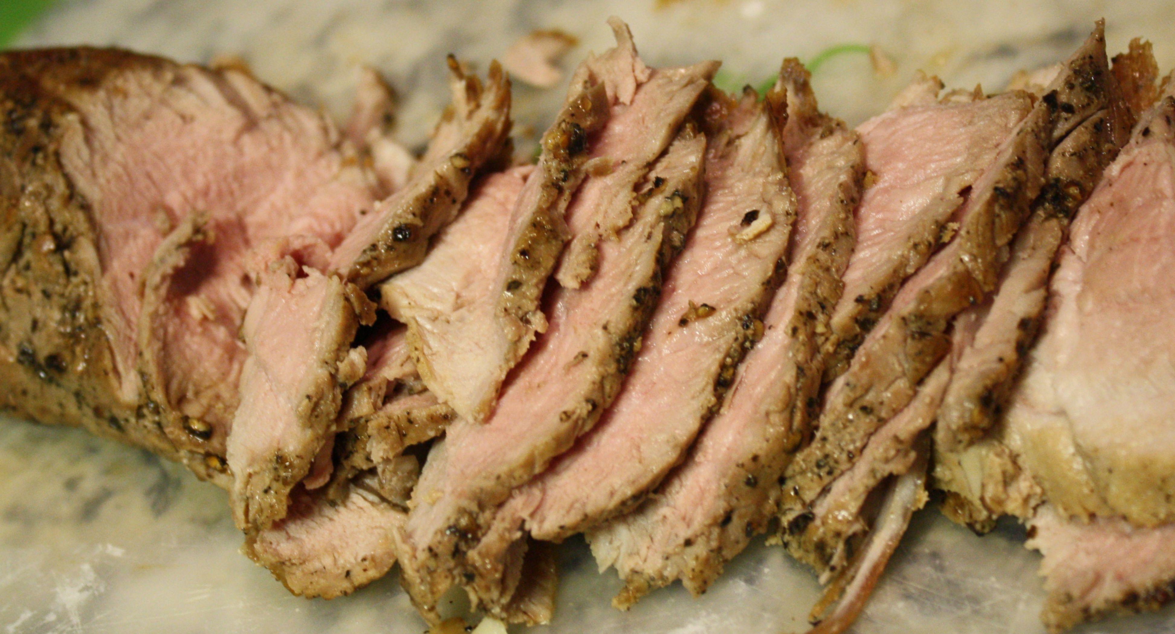 Pork Tenderloin Au Poivre fabulousfaresisters.com