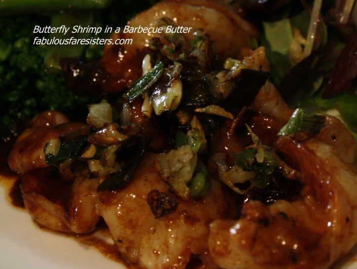 Butterfly Shrimp in a Barbecue Butter 1