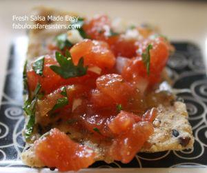 Fresh Salsa Made Easy 1