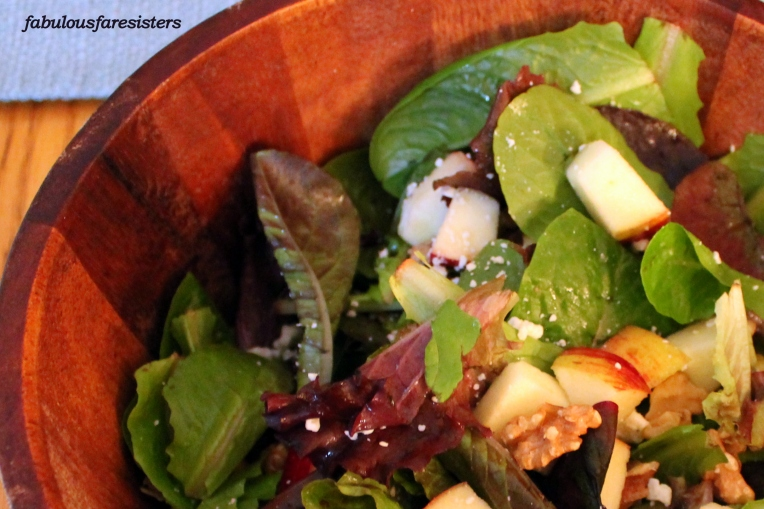 Romaine & Red Apple Salad