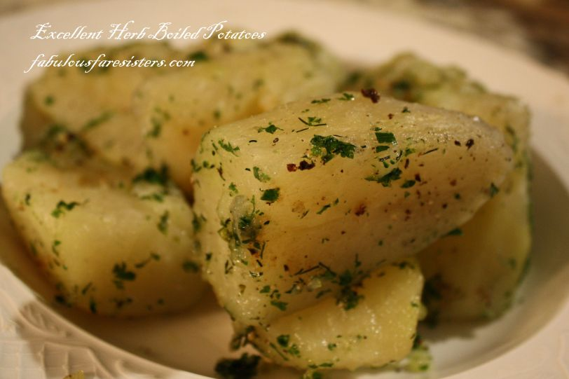 Excellent Herb Boiled Potatoes