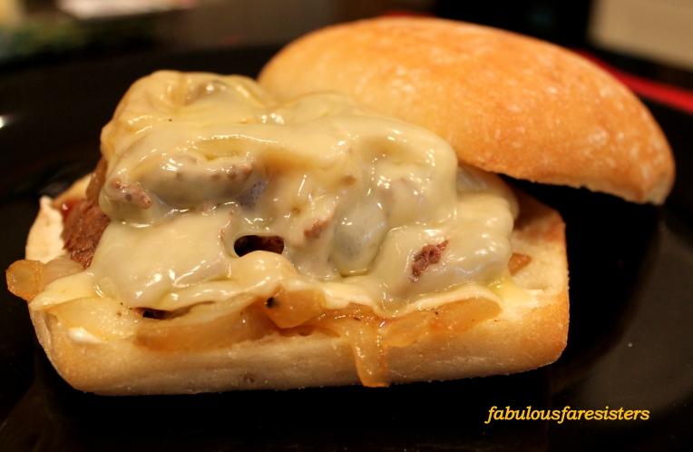 French Onion Sliced Sirloin Sandwich