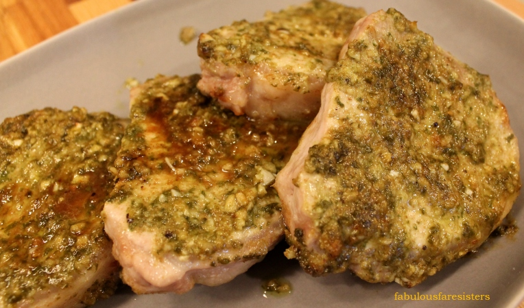 Basil Lime Pork Chops