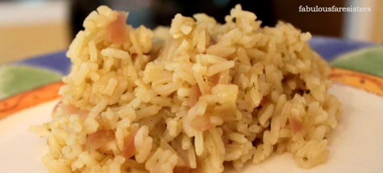 Easy Creamy Cilantro Rice