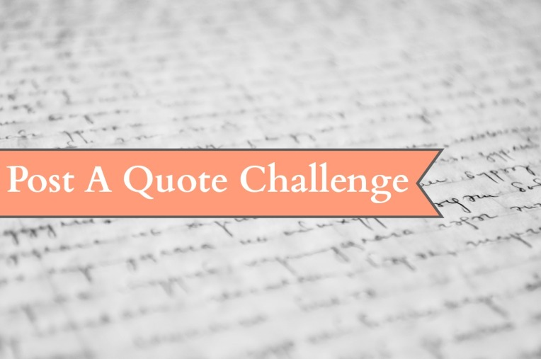 Post a Quote Challenge