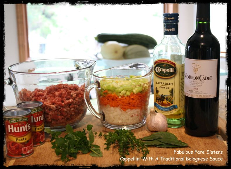 Cappellini With A Traditional Bolognese Sauce 2
