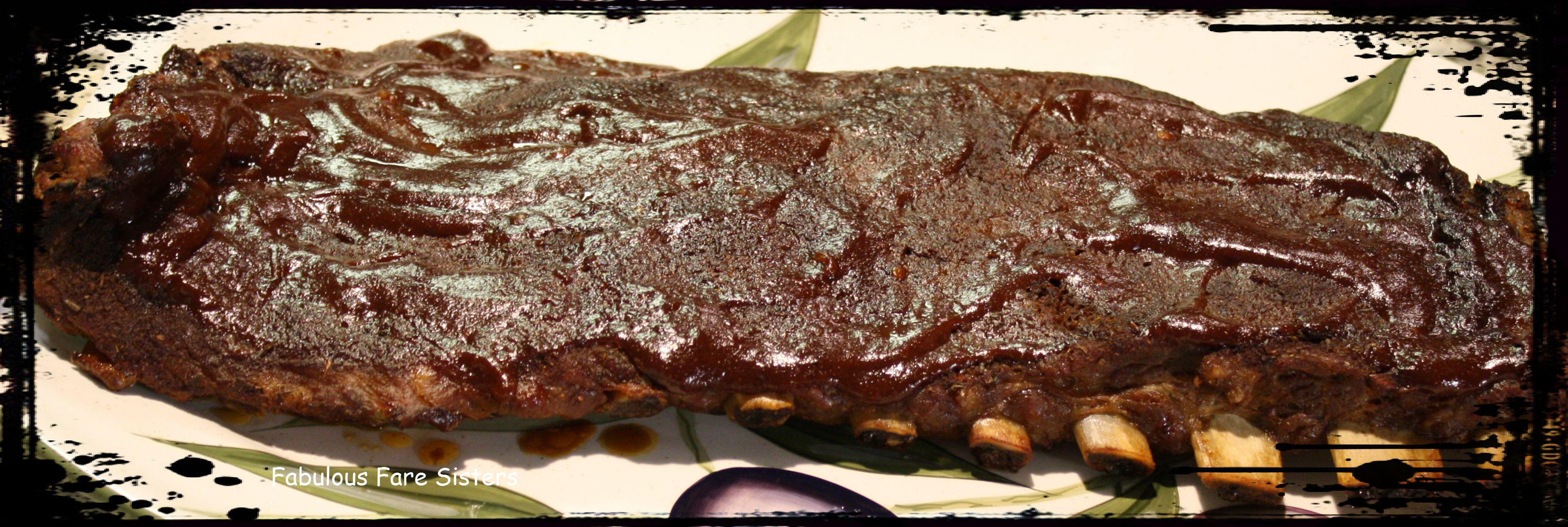 how to cook barbecue pork ribs in the oven