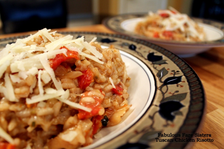 Tuscan Chicken Risotto