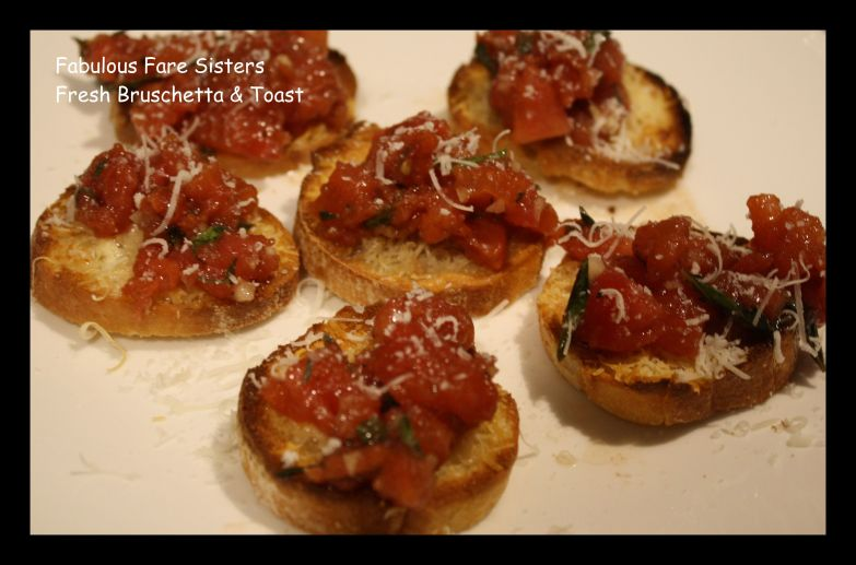Fresh Bruschetta & Toast