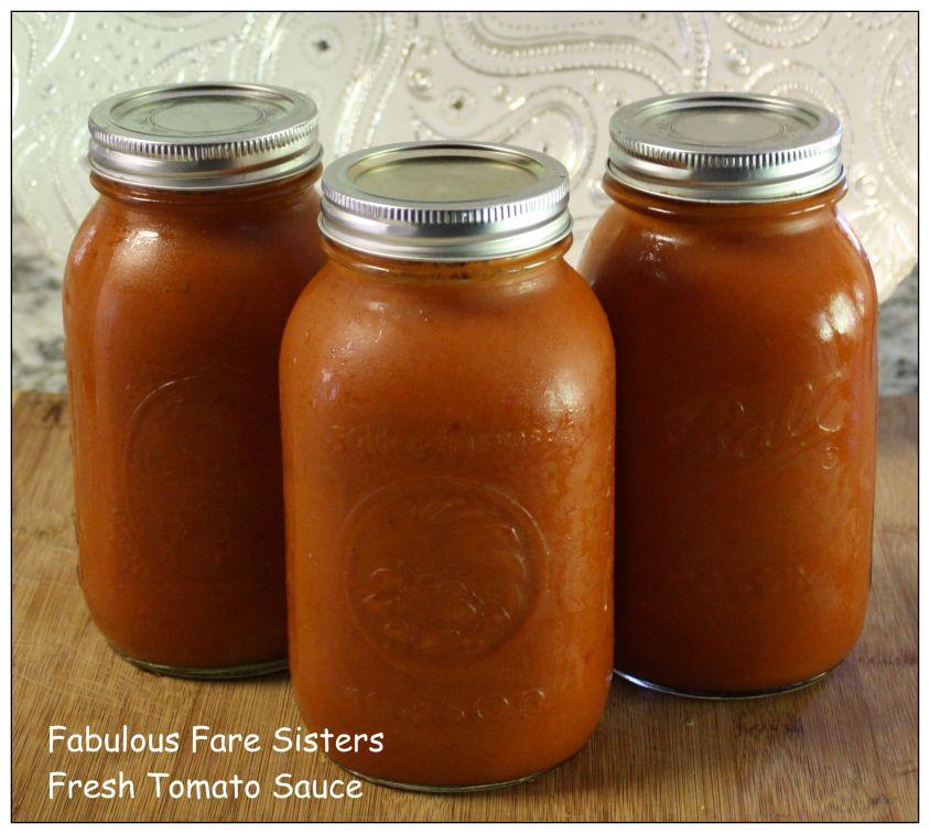 Fresh Tomato Sauce 1
