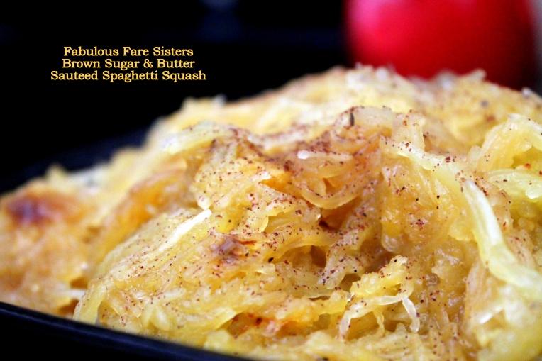 Brown Sugar & Butter Sautéed Spaghetti Squash