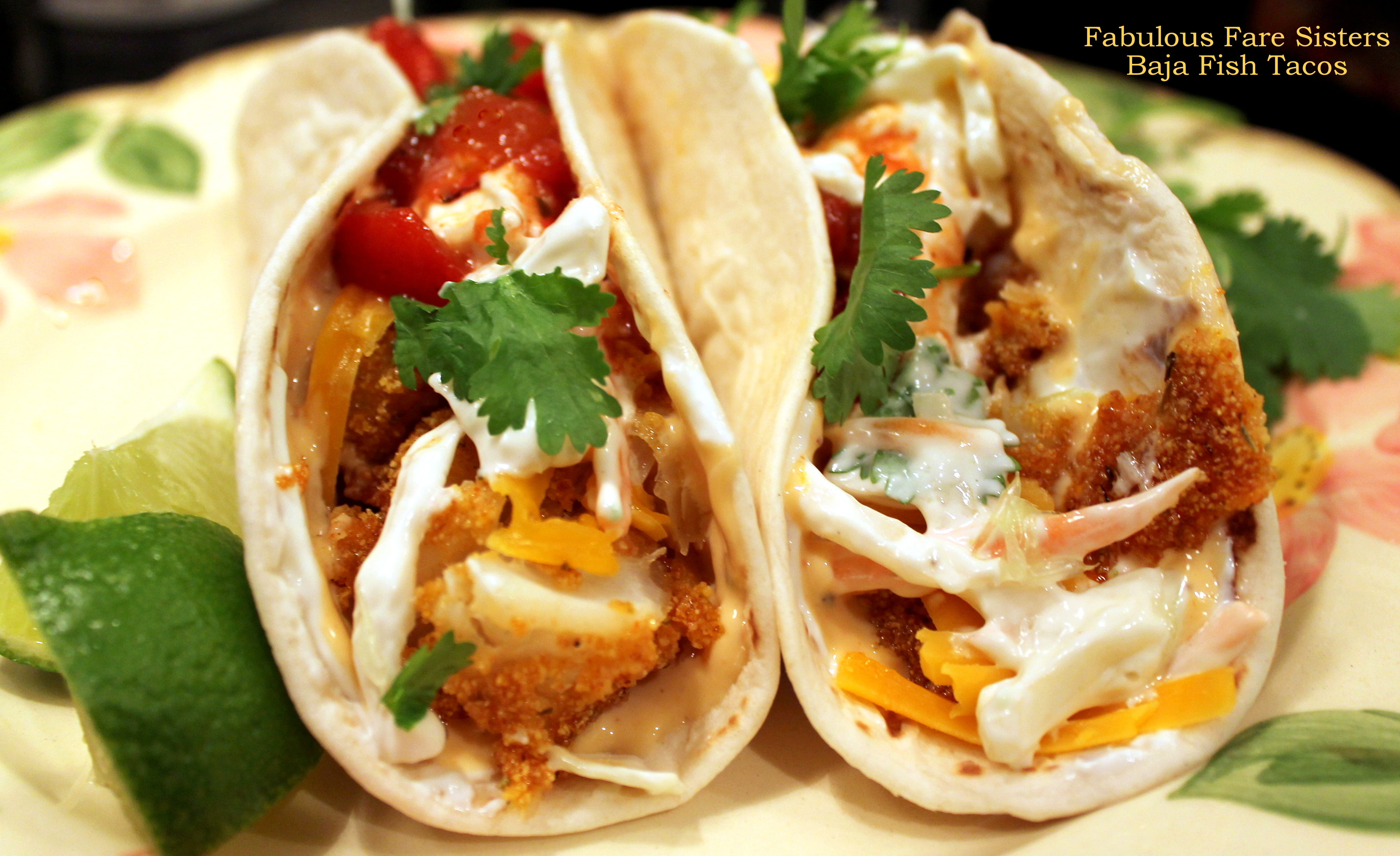Taco tuesday baja fish tacos fabulous fare sisters for White fish tacos