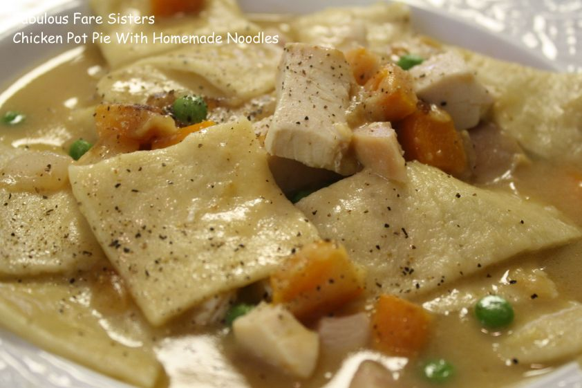 Chicken Pot Pie With Homemade Noodles 1