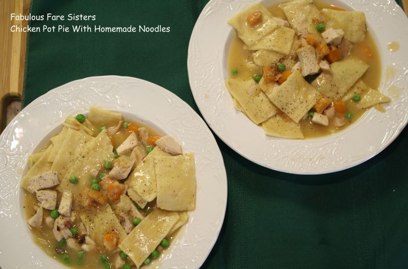Chicken Pot Pie With Homemade Noodles 12