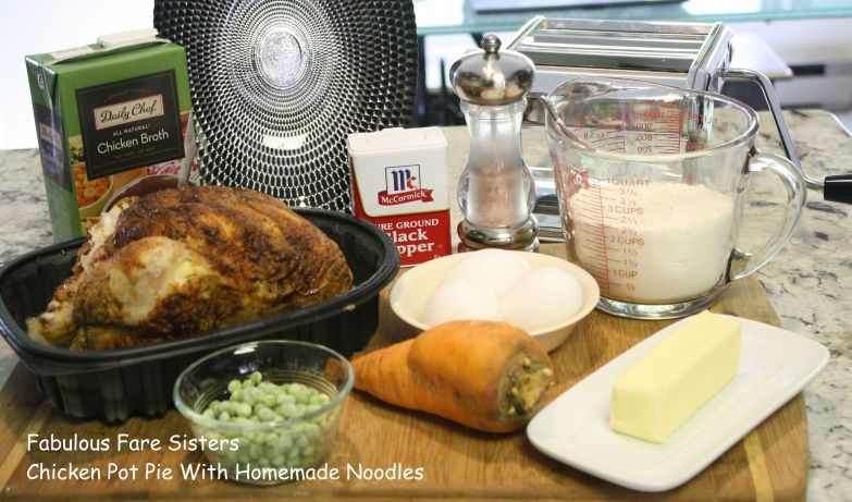 Chicken Pot Pie With Homemade Noodles
