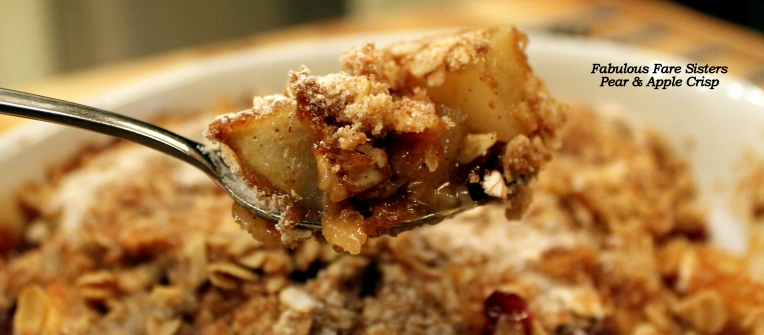 Pear & Apple Crisp