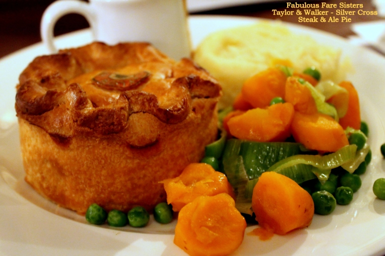 Silver Cross in Whitehall's Steak & Ale Pie