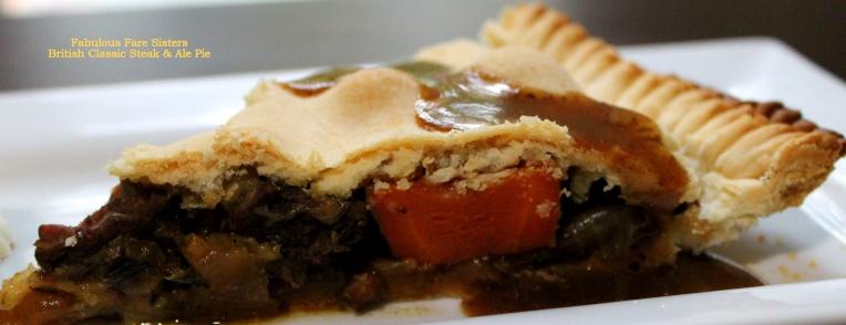 British Classic Steak & Ale Pie