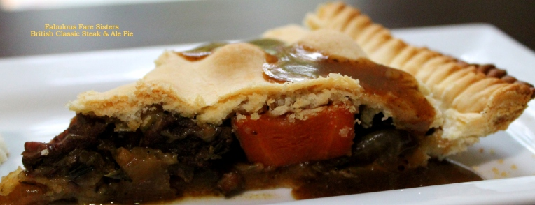 British Classic Steak & Ale Pie