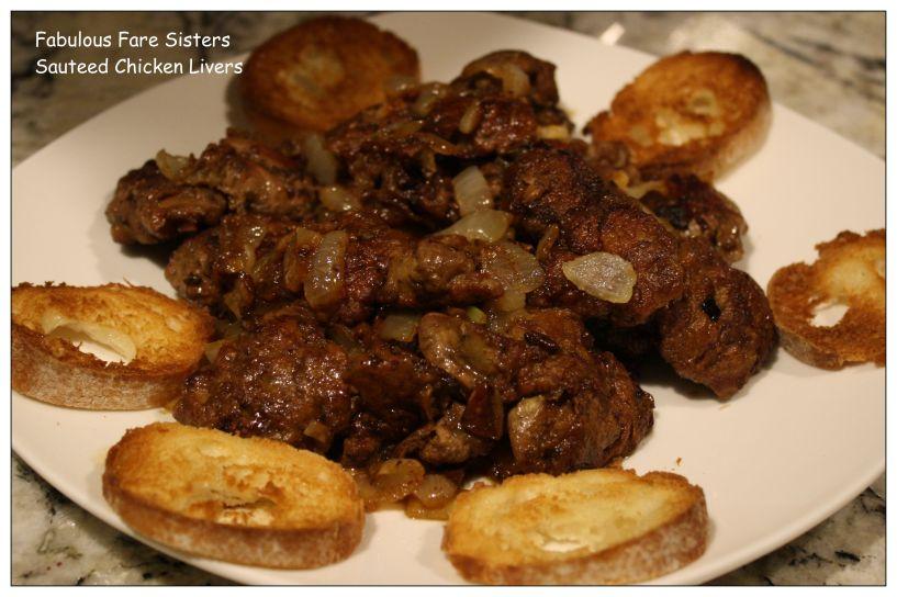 Sauteed Chicken Livers