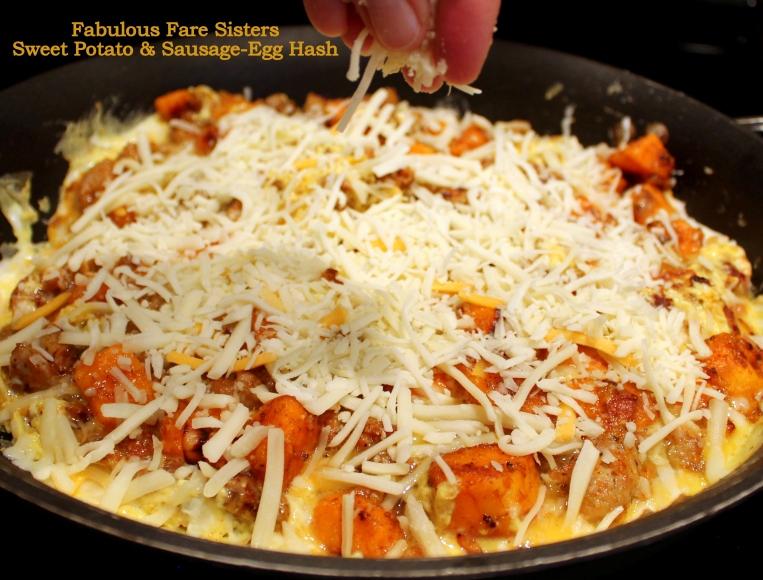 Sweet Potato & Sausage-Egg Hash