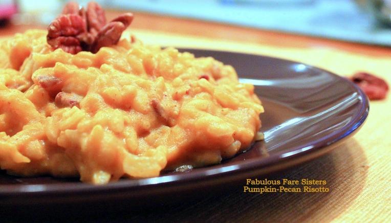 Pumpkin-Pecan Risotto