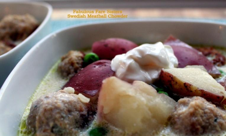 Swedish Meatball Chowder