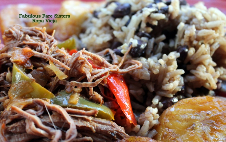 Ropa Vieja with Rice & Black Beans
