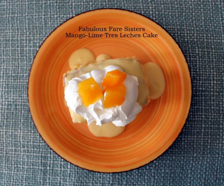 Mango-Lime Tres Leches Cake