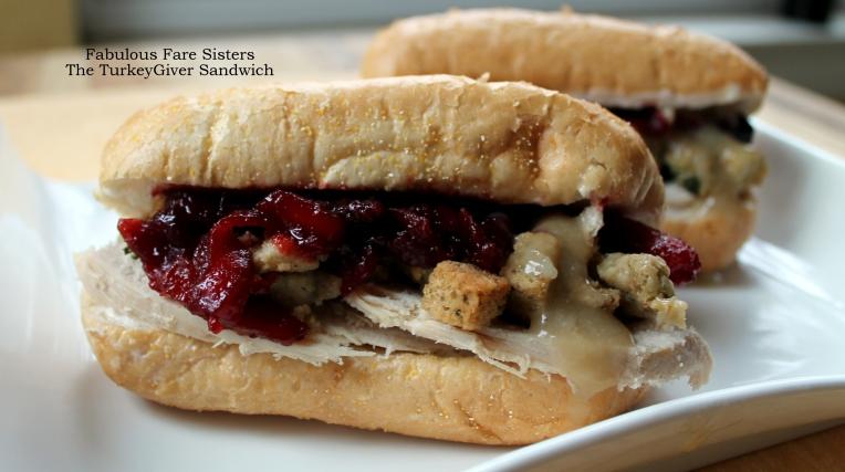 The TurkeyGiver Sandwich