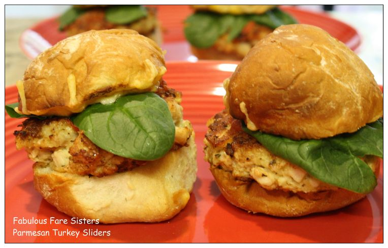 Parmesan Turkey Sliders