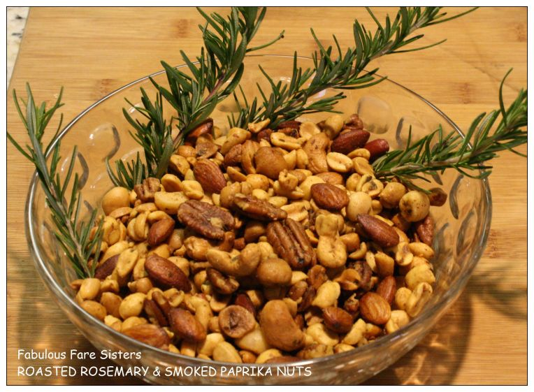 Roasted Rosemary & Smoked Paprika Nuts