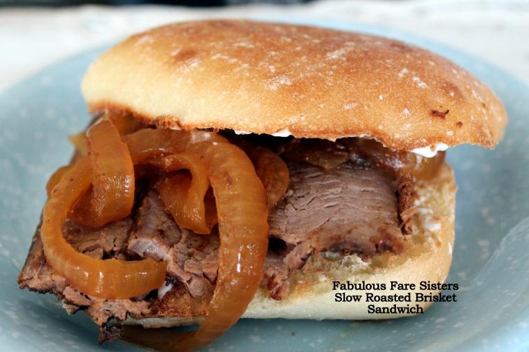 Slow Roasted Brisket Sandwiches