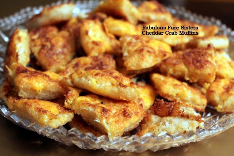 Cheddar Crab Muffins