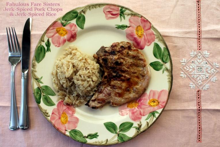 Jerk-Spiced Pork Chops