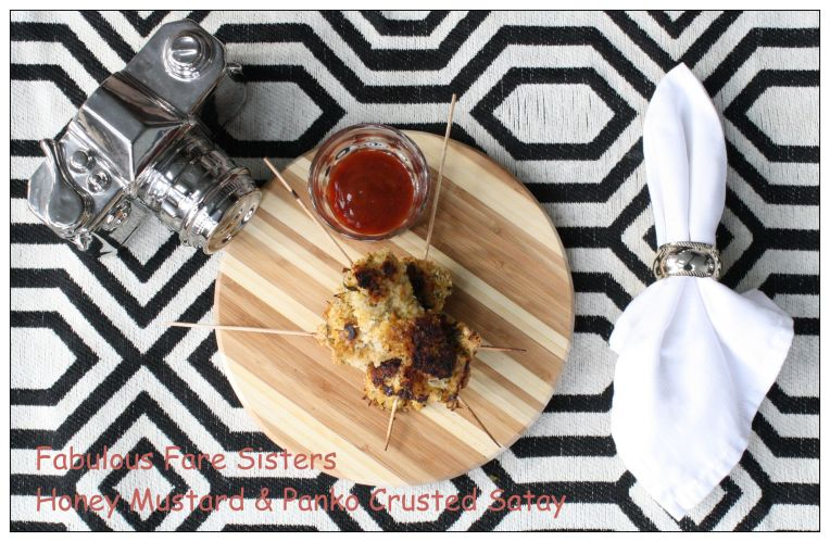 Honey Mustard & Panko Crusted Satay
