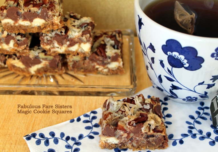 Magic Cookie Squares