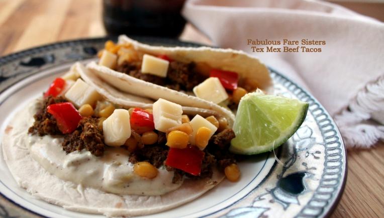 Tex Mex Beef Tacos