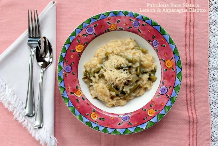 Lemon & Asparagus Risotto