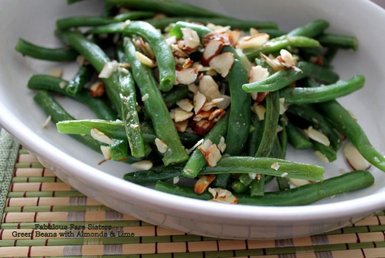 Green Beans with Almonds & Lime