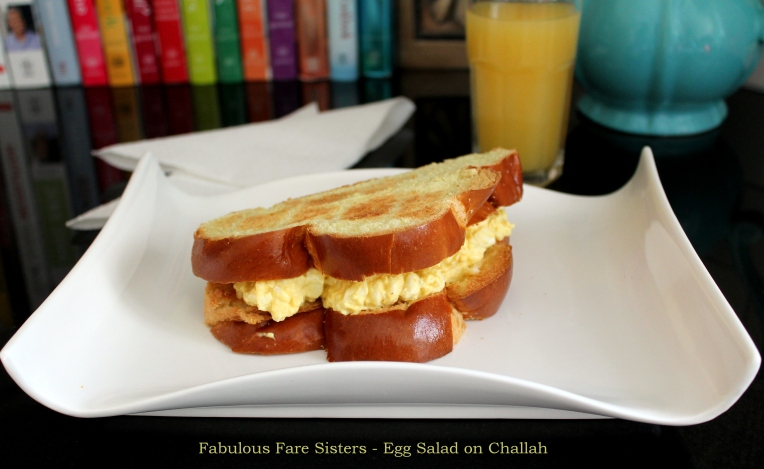 Egg Salad on Challah