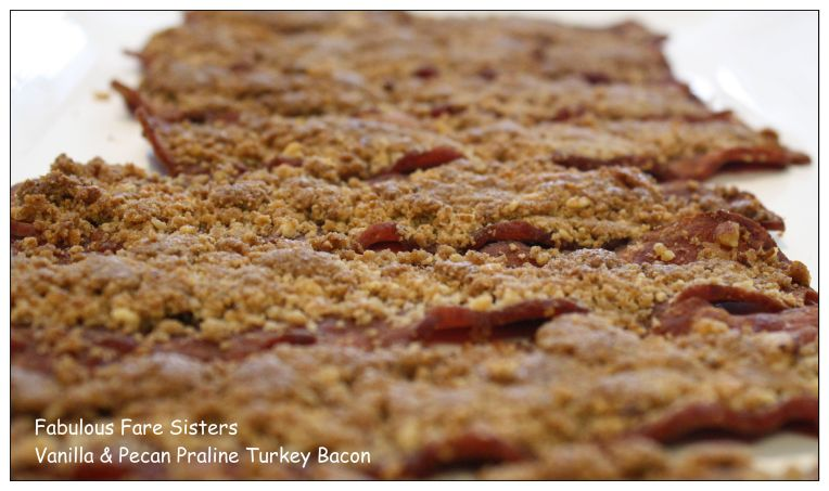 Vanilla & Pecan Praline Turkey Bacon