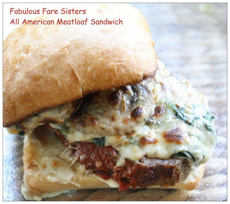 All American Meatloaf Sandwich 1